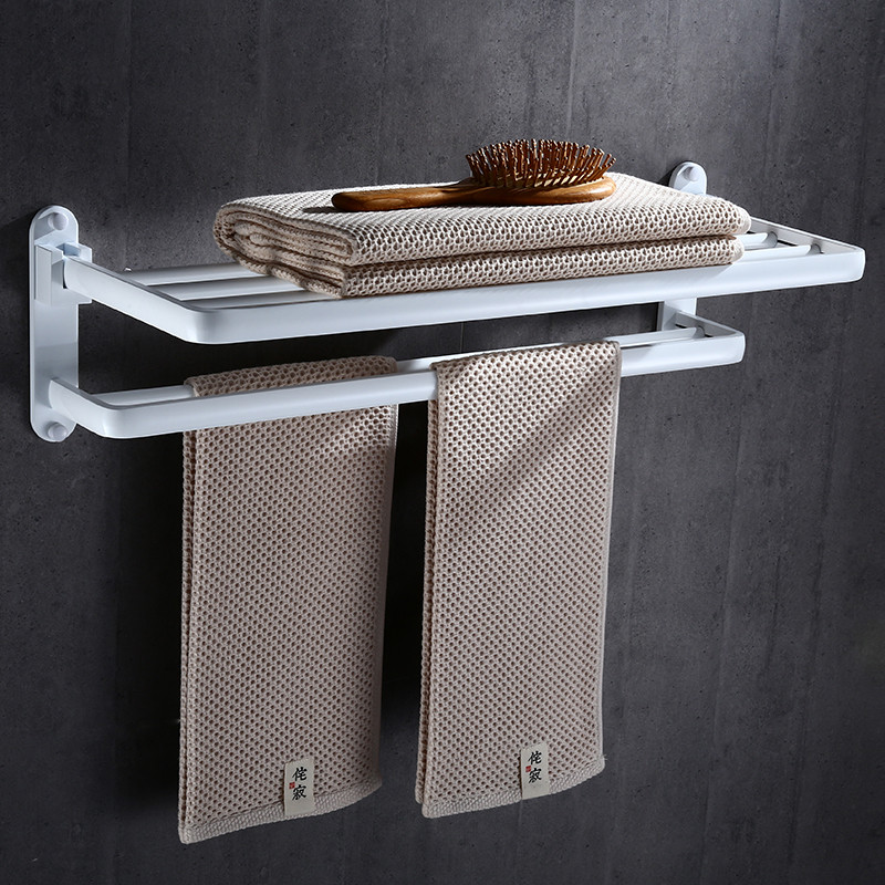 Badezimmer Handtuchhalter Schwarz