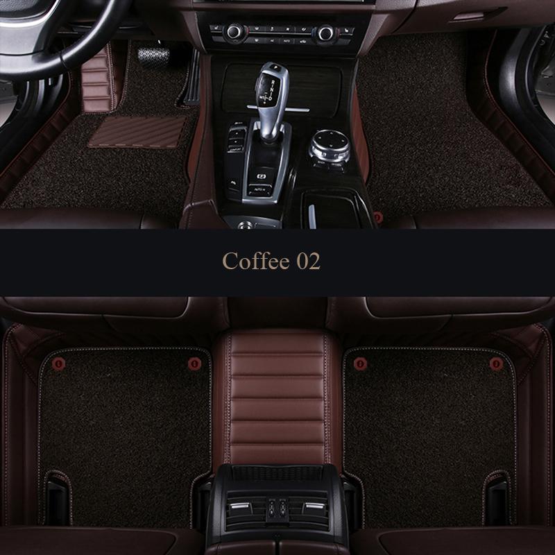 BMW 7 Series F01 a medida Alfombrillas De Coche De Calidad De Lujo 2009-2015