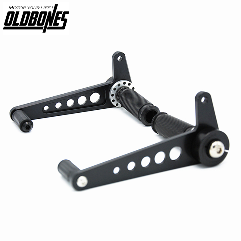 Universal Cafe Racer Rearset Footpegs Footrest