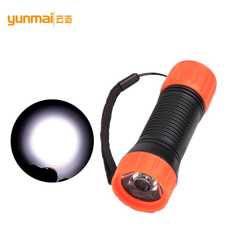 Security LED béisbol linterna 5 modos de zoom luz estroboscópica seguridad vara lámpara