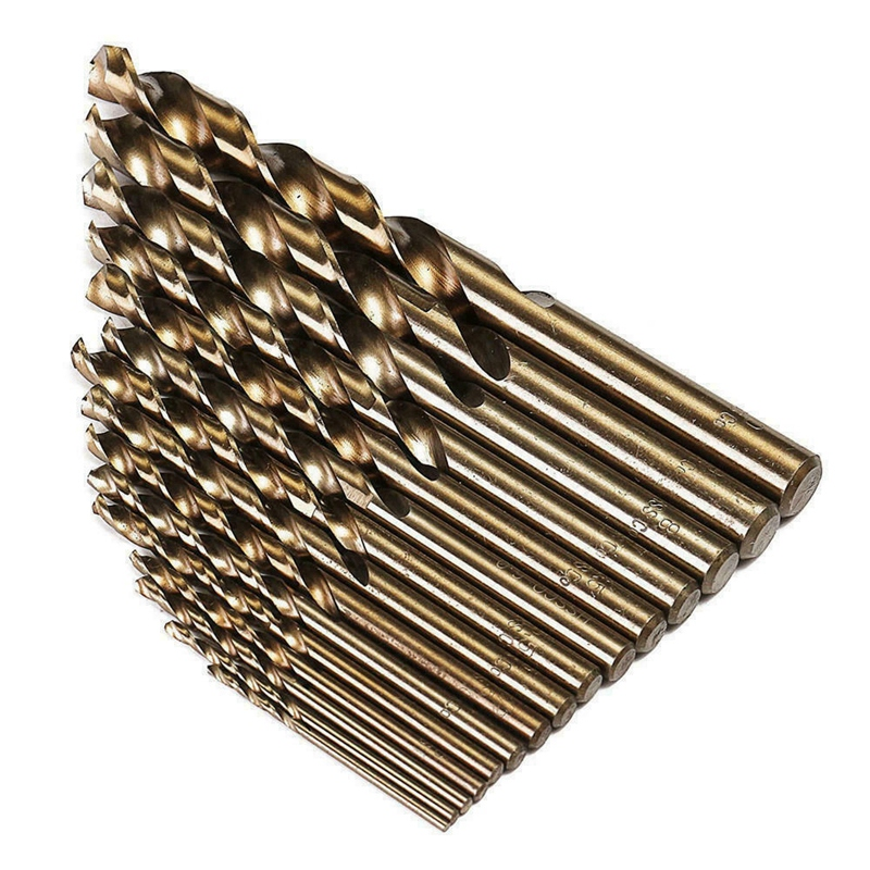 Durable Precision 74pcs//Lot 1-8mm HSS Twist Drill Bits Cobalt Whole Ground Metal Reamer High Strength Drilling Tool for Steel Iron Aluminum Pipes