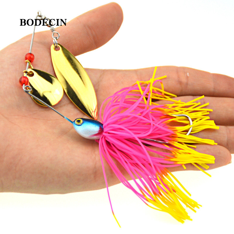 1PS Fishing Lure Wobblers Lures Wobbler Spinners Spoon Bait For Pike Peche Tackle All Artificial Baits Metal Sequins Spinnerbait (3)