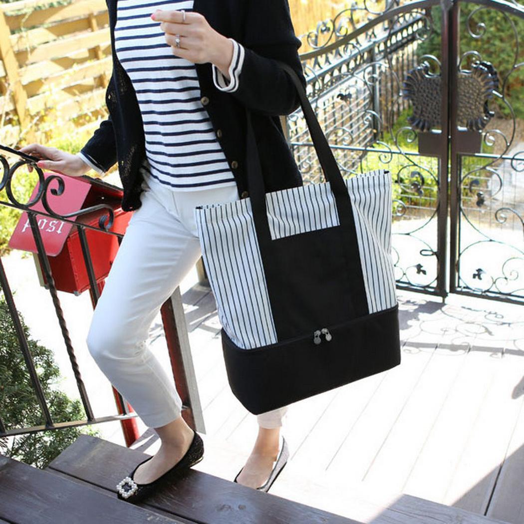 Новая дорожная сумка для покупок Сумка для пикника с изоляцией Сумка на одно плечо Новая мода Спортивные развлечения