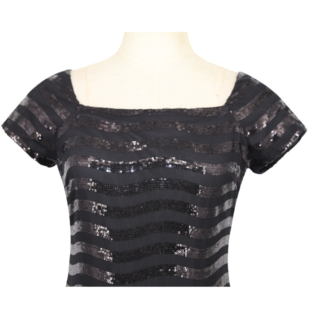 black sequin dress 2193 (9)