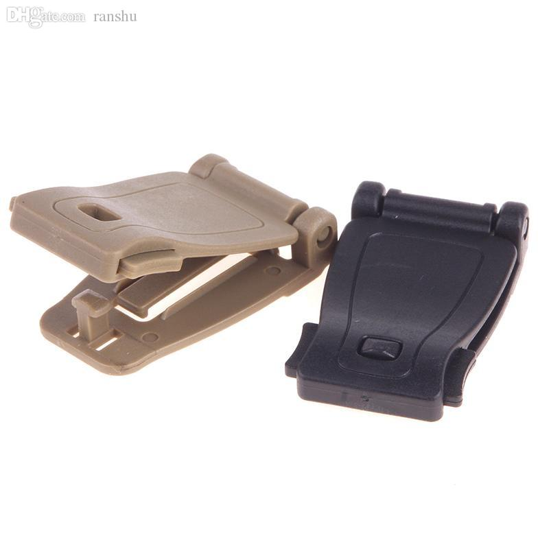 10x Outdoor Molle Webbing Connecting Clips Strap Bag Buckle Backpack Clip 25mm