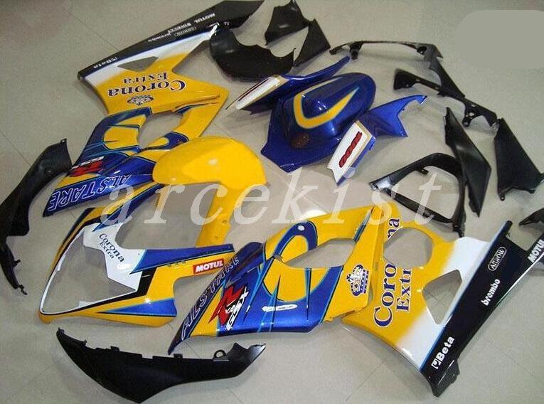 SUZUKI GSX 600R//750R CUSTOM FRONT SEATCOVER 2004//2005 black COLOR