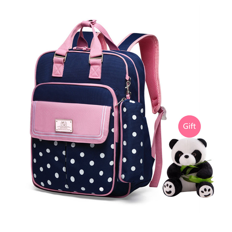 School Laptop Backpack For Women Lightweight Business Travel Pink Polka Dot Bag For Girls Cute College Personalized Trendy Brown Bookbag For Students