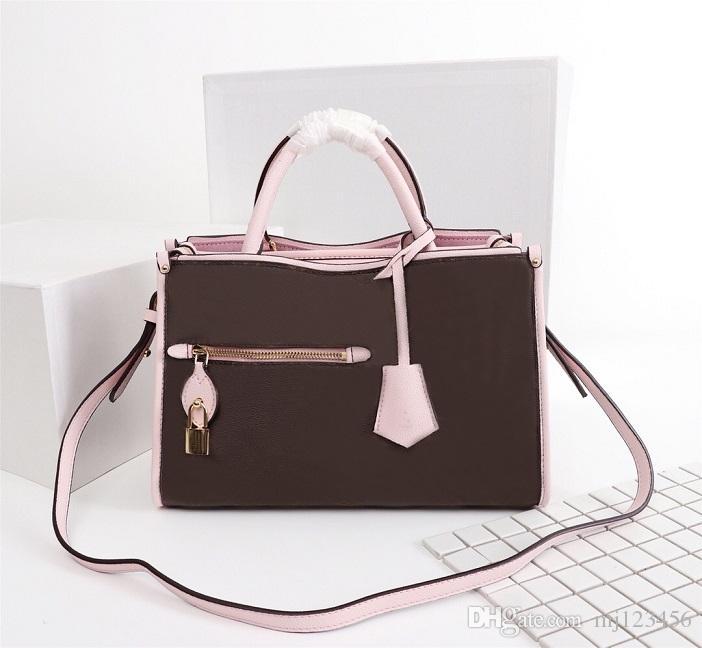 Original Designer Luxury Handbags Purses Flower Classic Popincourt Bag Women Brand Tote Monograms Shopping Bag Real Leather Shoulder Bags