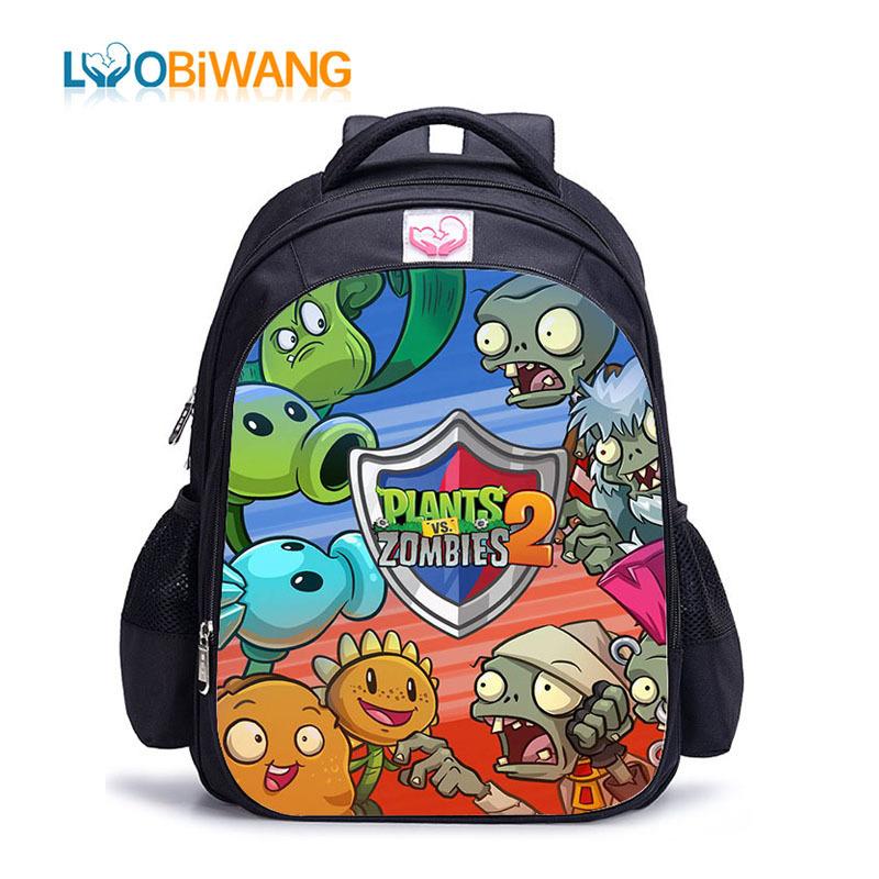 Hot sale Plants vs Zombies Kid/'s Drawstring Backpack School Bag,Party Gift bag