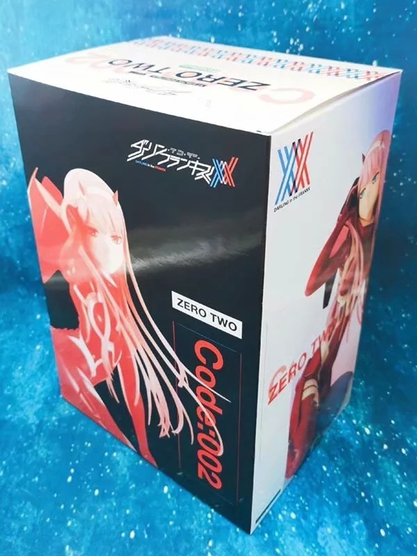 New Darling in the FRANXX Figure Zero Two 02 red clothes 16cm Collectible sexy Action Figure PVC Model Gift Anime Doll Toys (4)