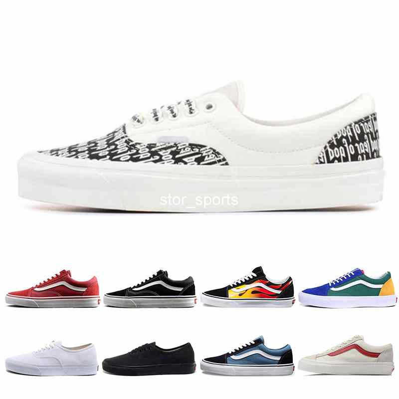 Fear Of God x Era 95 Vans old skool Mens Womens Casual Shoes Revenge X Storm Yacht Club Sports Designer Sneakers size 36 44