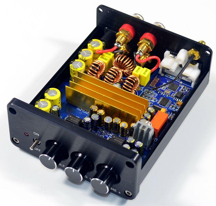 Mini TPA3116 Digital Audio Amplifier HiFi Bluetooth 4.2 Class D Stereo Power Amp 100W*2