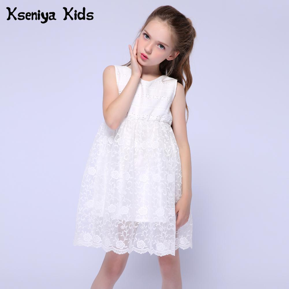 1be58d294d Compre Kseniya Kids New Summer Summer Girls Vestidos De Algodón ...