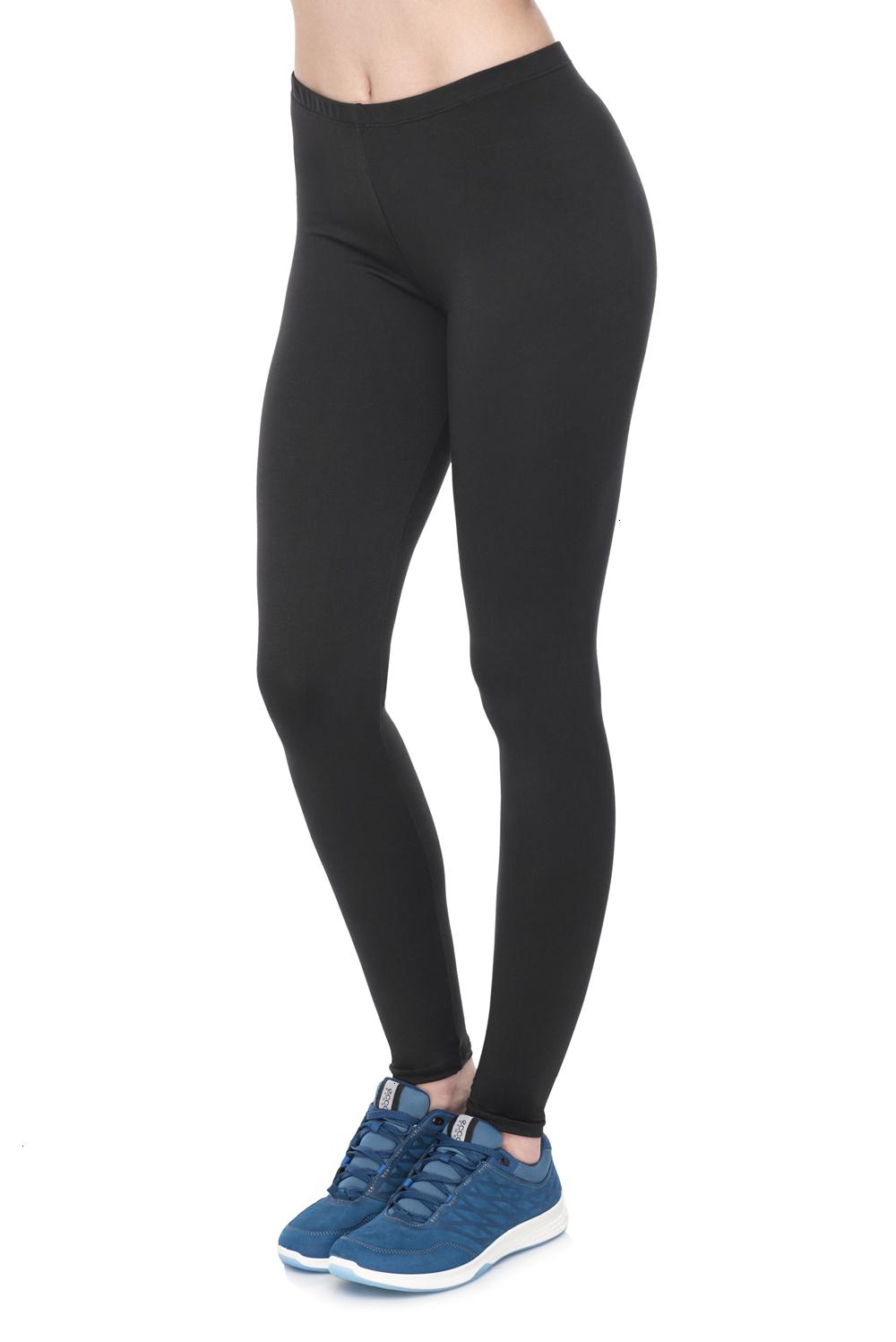 lgb00003 Basic leggings black fashion style (21)