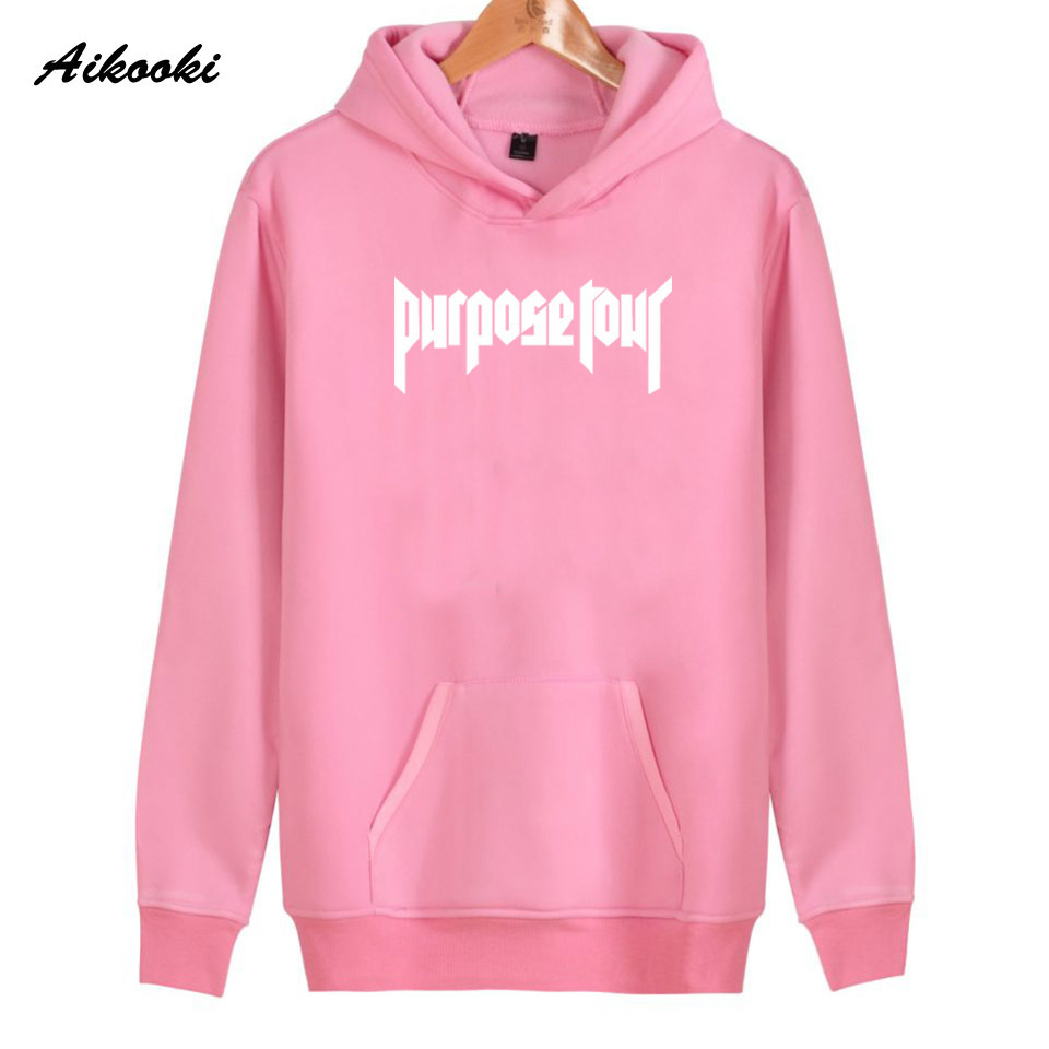 2019 Hot Justin Bieber Hoodies Men/women New Fashion Black Cotton Sweatshirt Men/women Justin Bieber Harajuku Clothes Plus Size