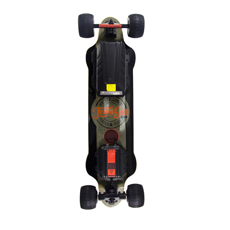 New Electric Scooter Off Road 4 Wheels Electric Scooters Double Drive H20T 36V Four Wheel Electric Skateboard With Rubber Wheels (22)