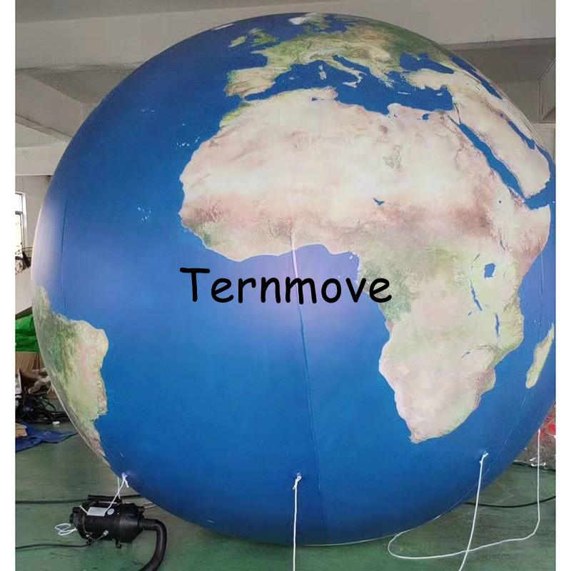 globo terraqueo inflable gigante