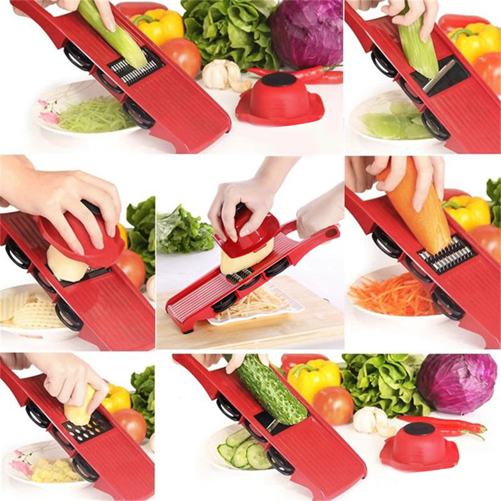 LMETJMA Mandoline légumes trancheuse Dicer Fruit Cutter Coupe