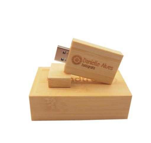 In legno girevole 8 GB USB Flash Drive Penna Memory Stick Regalo Di Nozze foto digitali