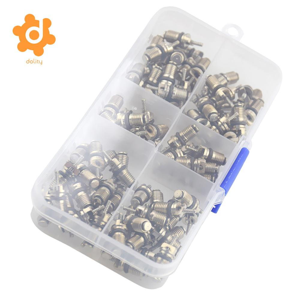 110 Piece High Pressure A/C Valve Core Schrader Valves Air Conditioning Tool High Quality Metal