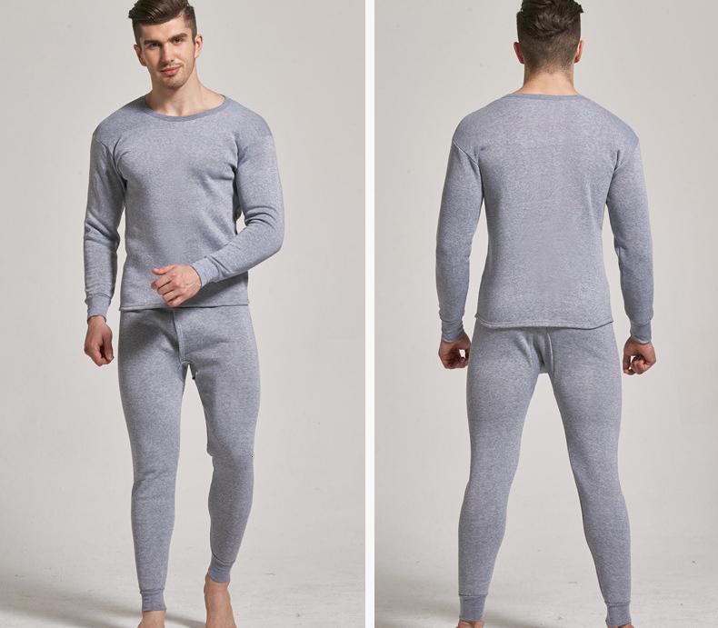 Thermal Underwear For Men Plus Size Thermal Underwear Set Winter Long Johns Men Warm Thermal Underwear Set Thermo Kleding 12