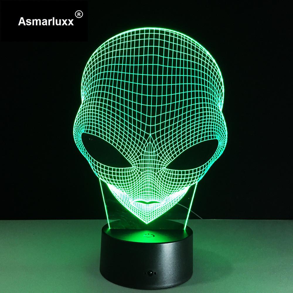 Asmarluxx 3d led lamp9013