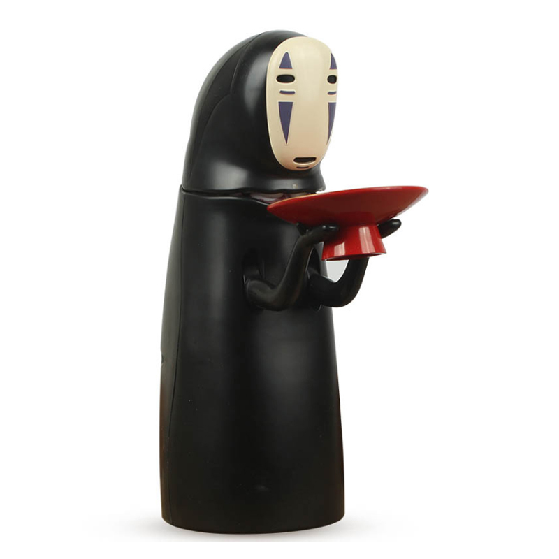 Electronic Faceless Man Ghost Figure Cartoon No-face Piggy Bank Saving Box Coin Musical Safe Money Child Funny Gift Q190606