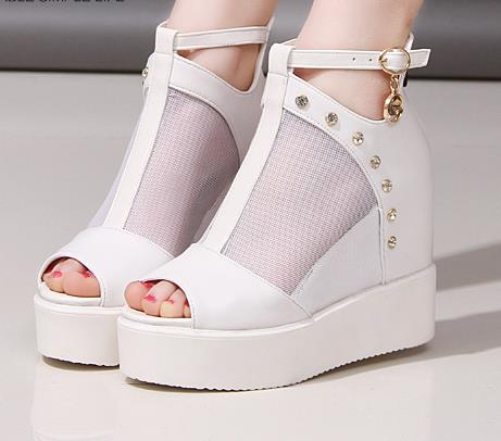Platform wedge sandals for women,Youngh Fashion Women Shake Shoes Summer Sandals Thick Bottom Higt Heel Shoes