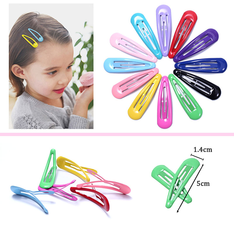 """96pcs Baby Toddler Girl Hair Clips Snap Flower  Hairpin Barrette Tic Tac Lot 2/"""""""