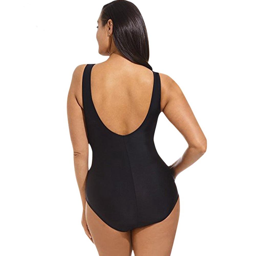 Plus size swimsuit 0112