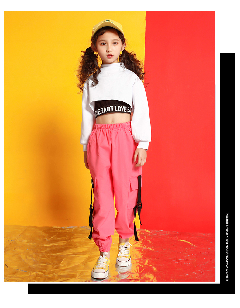 Girls boutique outfits 4 6 8 10 123 14 16 18 Years hip hop hoodies sweatshirts kids costumes girls kids summer clothes (11)