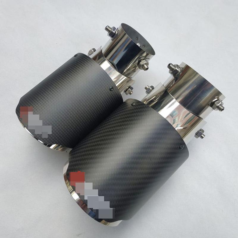 Rotlicht Flaming Edelstahl Schalld/ämpfer Spitze Spitfire Auto LED Auspuff-Splitter