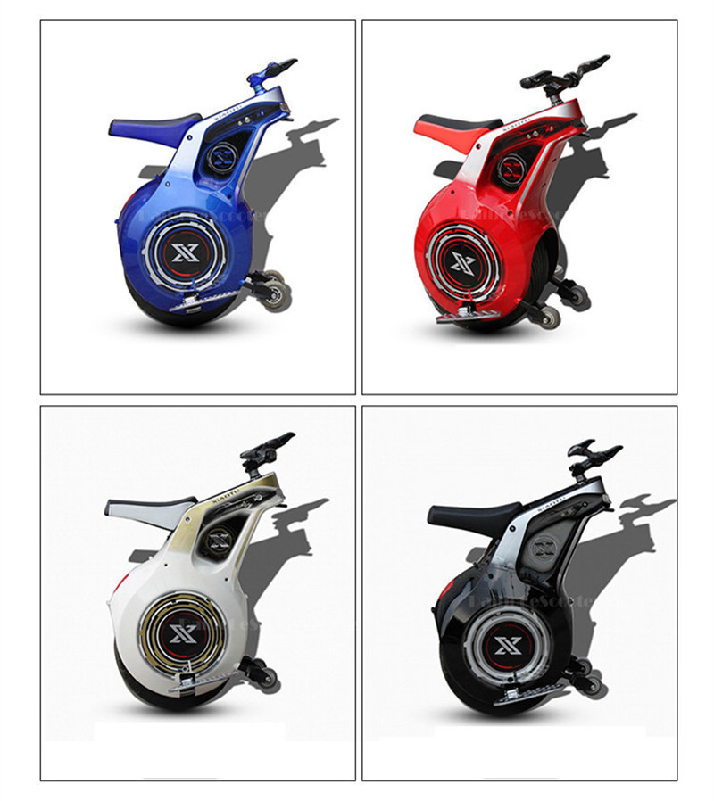 Powerful Electric Scooter One Wheel Self Balancing Scooters 19 Inch Motorcycle 800W 60V Electric Unicycle Scooter With APP (19)