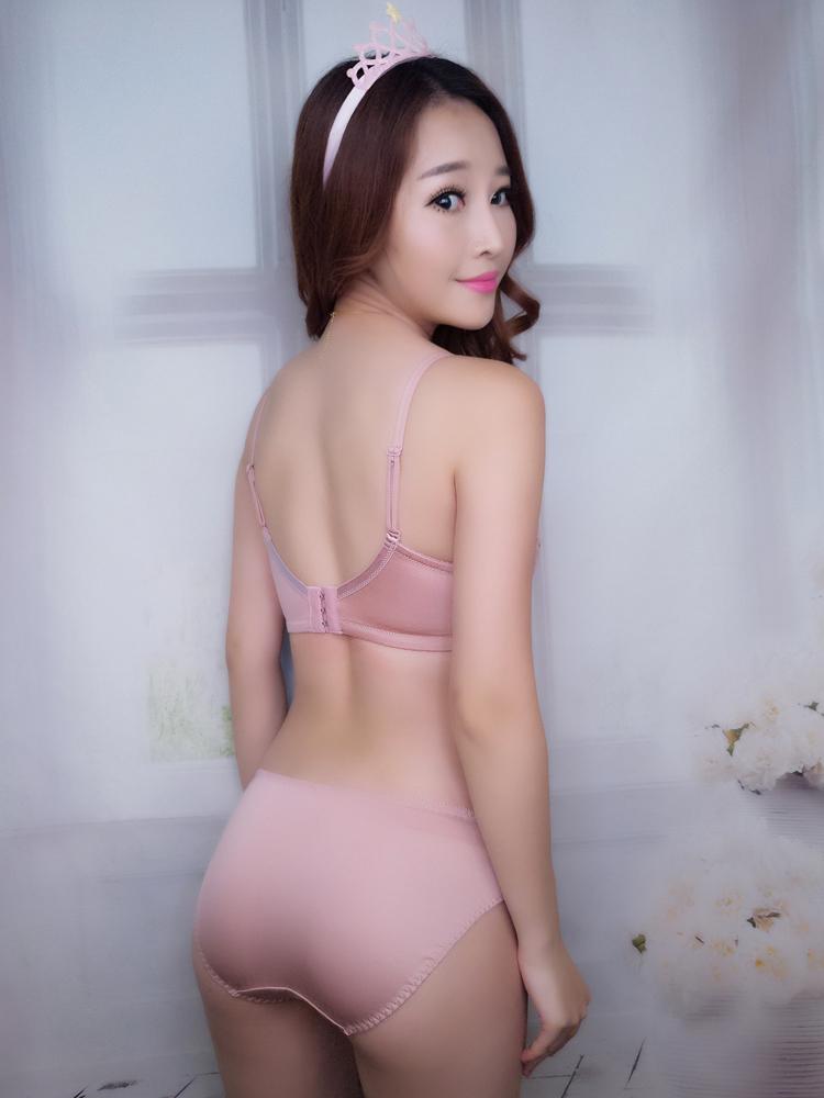 Jerrinut Sexy Lingerie Set Underwear Women Push Up Bra Set Seamless Embroidery Bra And Panty Brassiere Bra Brief Sets