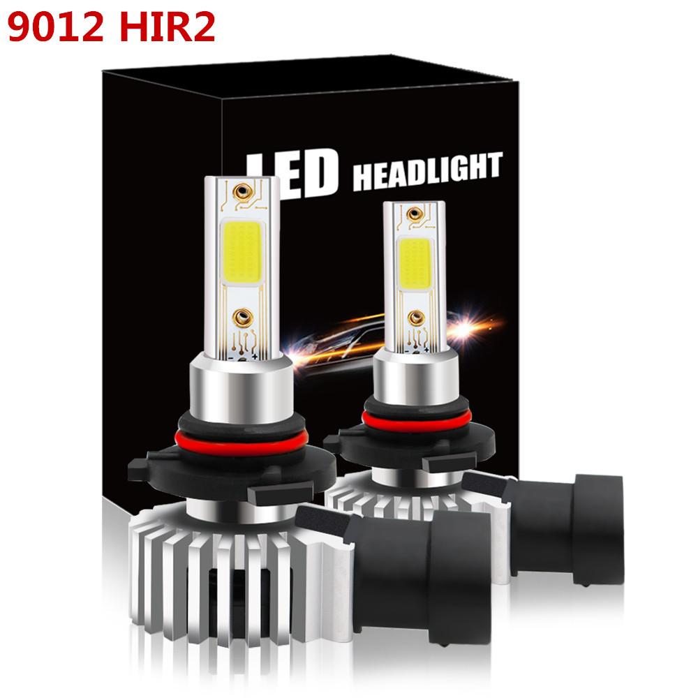 2x HIR2 9012 6000K 12V LED Scheinwerfer CANBUS Birnen Leucht Lampen Weiß 6500K