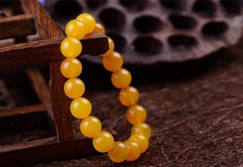 Braccialetto elastico cinese naturale 100% dell'agata gialla braccialetto braccialetto 6mm - 14mm regalo all'ingrosso dei monili