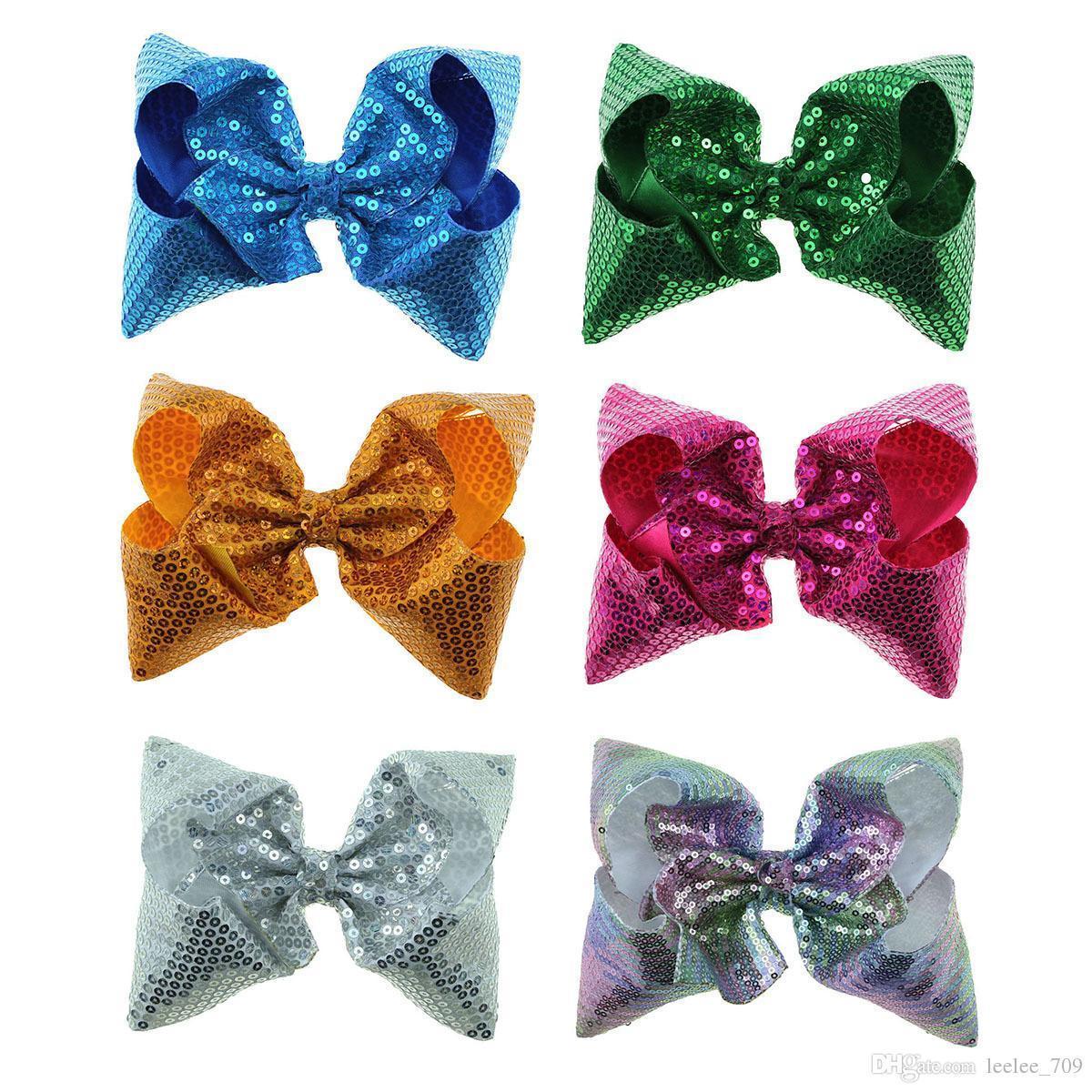 20Pcs Baby M/ädchen Kinder Haarschleife Boutique Alligator Clip Grosgrain Ribbon Bowknot