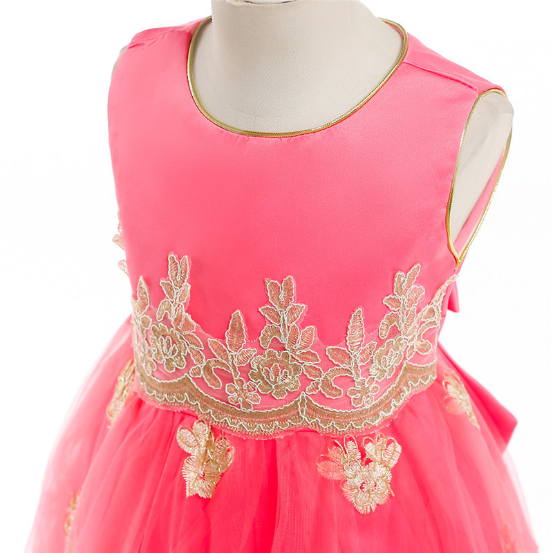 Flower-Girl-Princess-Wedding-Party-Dresses-Gold-Wire-Embroidery-Kids-Prom-Ball-Gowns-Formal-Baby-Clothes (3)