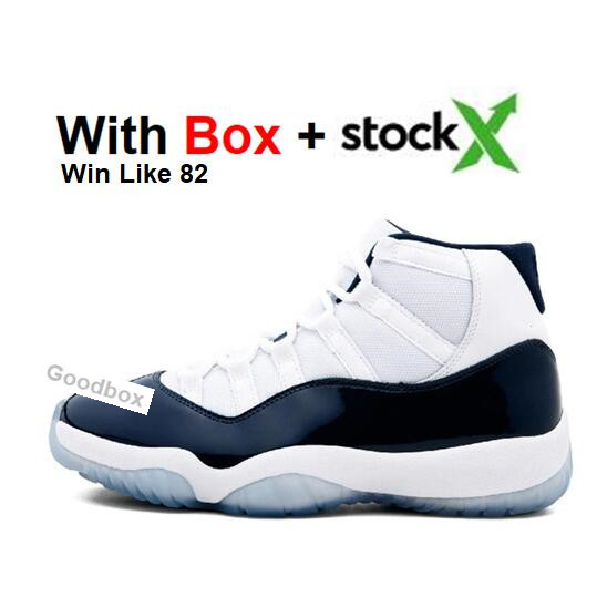 Basketball shoes Legend Blue 11 Bred 2019 11s Concord Gamma Blue With Box Cool Grey Men Women Snake Navy Space Jam Playoffs