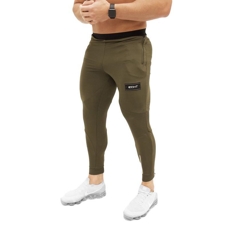 Tight Men Pants Fitness Gym Sweatpants (16)