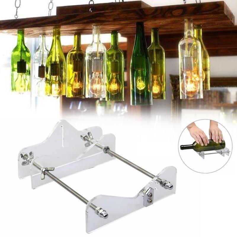herramientas de corte de repuesto para cortador de botellas de cristal Cortador de botellas de cristal cortador de botellas de vino 2 piezas por juego de herramientas de corte de vidrio