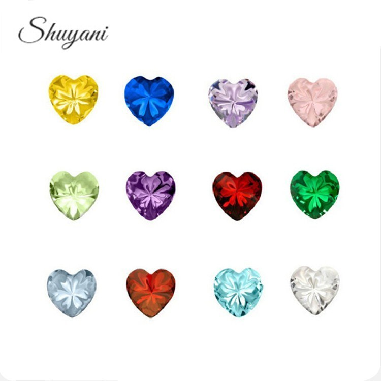 Mix-Colors-Heart-Crystal-Birthstone-Charms-Floating-Birthday-stone-Charms-For-Floating-Locket
