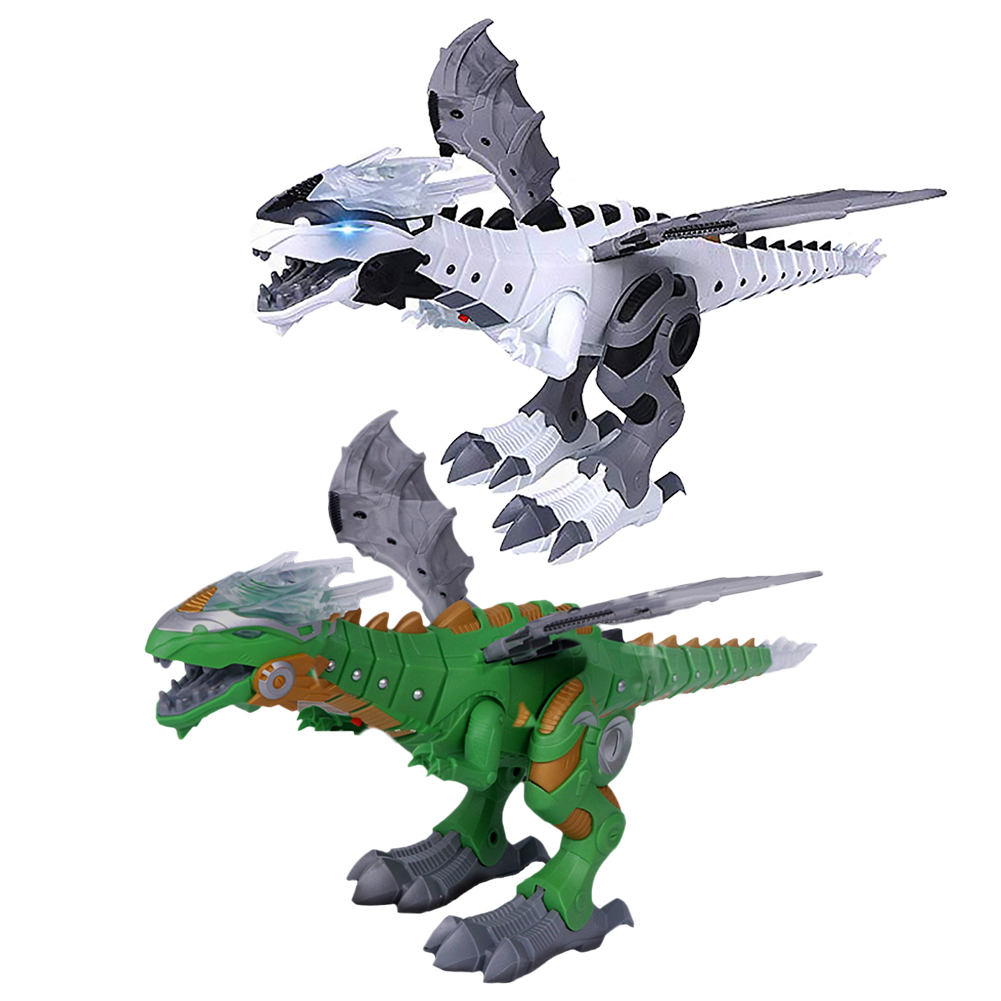Toys & Hobbies Electronic Pets Electric Dinosaurs Model Toys Walking Spray Dinosaur Robot With Light Sound Swing Simulation Dinosaur Toy For Boy Holiday Gift