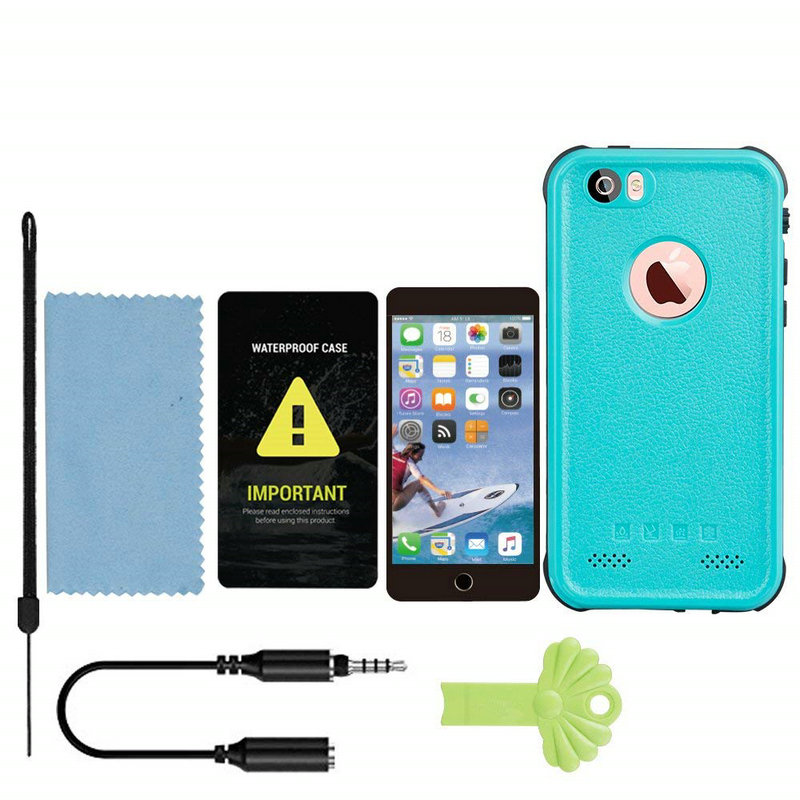 Redpepper Sealed Waterproof Case For iPhone 5 5S SE Shockproof case (9)