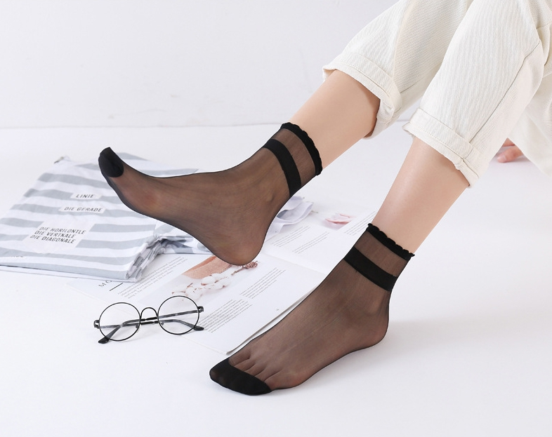 5 paia set Calze invisibili per donna caviglia senza maniche CLWR