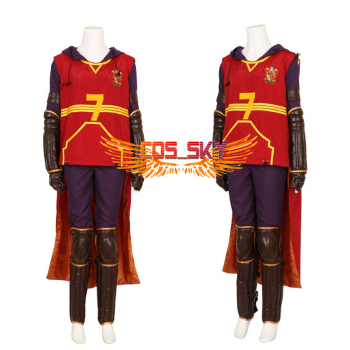 Harry Potter movies Leg /& Arm guard Gloves cosplay Quidditch costume Leather