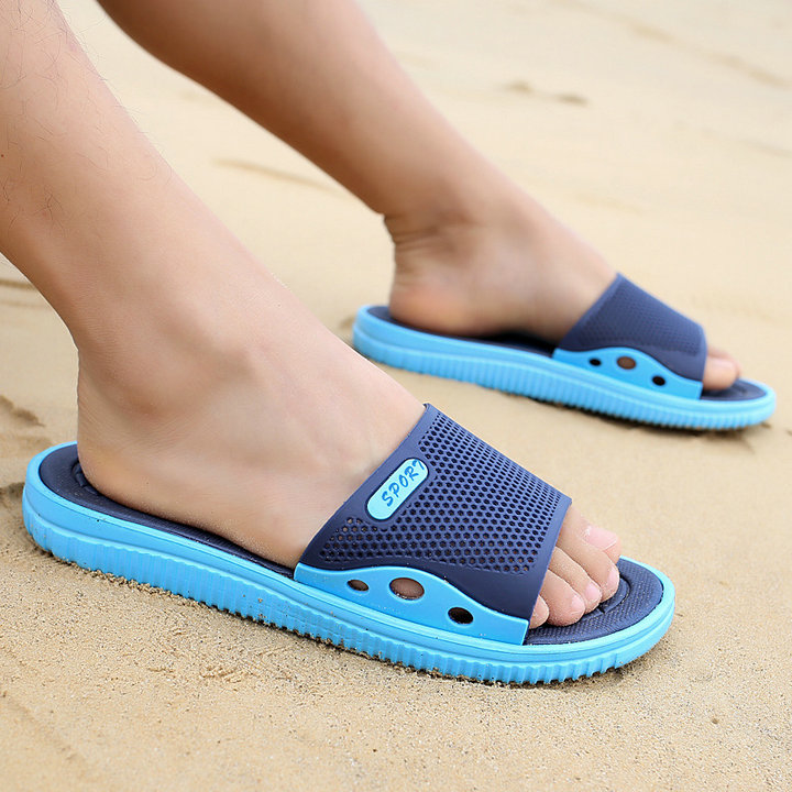 Fashion New Design Anti Slip Adult Men Shoes Sport Slide Slippers Outdoor Indoor Beach Slippers For Man (9)