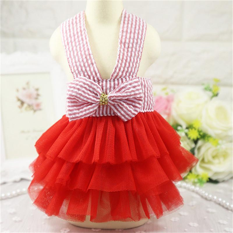 Summer Dog Dress Pet Dog Clothes for Small Dog Wedding Dress Skirt Puppy Clothing Spring Fashion Jean Pet Clothes19