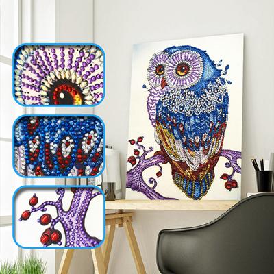 Animal Hágalo usted mismo 5D puntada cruzada Craft Bordado De Pintura De Diamante Kit De Arte Decoración Hogar