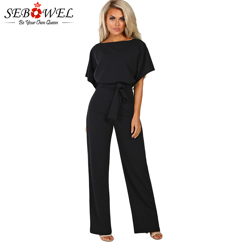 Black-Oh-So-Glam-Belted-Wide-Leg-Jumpsuit-LC64520-2-1